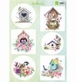 Marianne Design Knipvel Bird Houses Spring VK9573