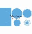 Marianne Design Creatables Anja's Vertical Folding DieLR0570