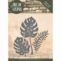 Jeanine's Art Snijmal Art of Living - Leaves JAD10055