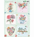 Marianne Design Knipvel Els Romantic Dreams Green EWK1265