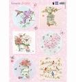 Marianne Design Knipvel Els Romantic Dreams Pink EWK1264