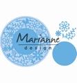 Marianne Design Creatables Flower Frame Round LR0574