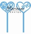 Marianne Design Creatables Heart Pins LR0573
