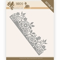 Jeanine's Art Snijmal Birds & Flowers - Border JAD10058