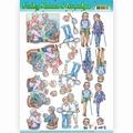 Yvonne Creations knipvel Funky Nanna's - Sporting CD11239