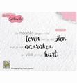 Nellie Snellen Clear Stamp Dutch Sentiments SENCS013