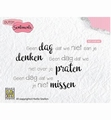Nellie Snellen Clear Stamp Dutch Sentiments SENCS014