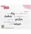Nellie Snellen Clear Stamp Dutch Sentiments SENCS014