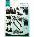 Marianne Design clear stamp Silhouette Fairytales CS1020