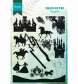 Marianne Design clear stamp Silhouette Fairytales CS1020
