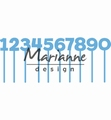 Marianne Design Creatables Pins Numbers LR0582