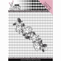 Yvonne Creations Die Petty Pierrot - Rose Border YCD10162