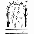 Card-io Clear Stamp Winter Archway CDCCSTWIN-12