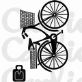 Card-io Clear Stamp On Your Bike CDCCSTONY-01