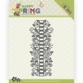 Precious Marieke Snijmal Happy Spring - Ribbon BorderPM10147