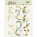 Precious Marieke knipvel Happy Spring - Daffodils CD11264