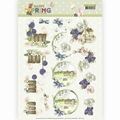 Precious Marieke knipvel Happy Spring - On the Farm CD11263