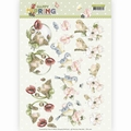 Precious Marieke knipvel Happy Spring - Birds CD11262