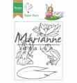 Marianne Design clear stamp Hetty's Water Fairy HT1646