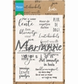 Marianne Design clear stamp Lente CS1022