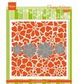 Marianne Design Embossing Folder + Die Poppies DF3452