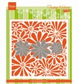 Marianne Design Embossing Folder + Die Daisies DF3451