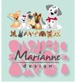 Marianne Design Collectables Eline's Puppy COL1464