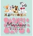 Marianne Design Collectables Eline's Puppy COL1464