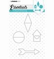 Studio Light Snijmal Essentials 142   STENCILSL142