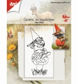 Joy! Crafts Clear Stamp Kabouter op Paddenstoel 6410/0506