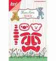 Joy Crafts Snijmal Mon Ami Beertje Teddy 6002/1299