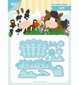 Joy Crafts Snijmal Tumble Friends - Farm 6002/1193