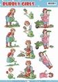 Yvonne Creations knipvel Bubbly Girls Gardening CD11241