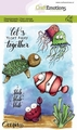 Craft Emotions Clear Stamp Carla Creaties Ocean 130501/1623