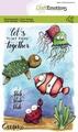 Craft Emotions Clear Stamp Carla Creaties Ocean 130501/1623