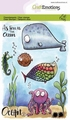 Craft Emotions Clear Stamp Carla Creaties Ocean 130501/1622