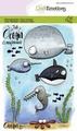 Craft Emotions Clear Stamp Carla Creaties Ocean 130501/1621