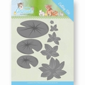 Jeanine's Art Snijmal Young Animals Lily Pond Leave JAD10069