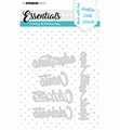 Studio Light Snijmal Essentials 164   STENCILSL164