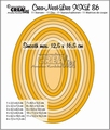 Crea-Nest-Lies set mallen nummer 86 XXL   CLNest86XXL
