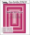 Crea-Nest-Lies set mallen nummer 87 XXL   CLNest87XXL