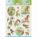 Jeanine's Art Knipvel Young Animals In the Forest CD11273