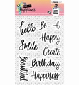 Studio Light Clear Stamp Create Happiness 346  STAMPCR346