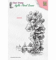 Nellie Snellen Clear Stamp Tree with Boat IFS014