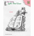 Nellie Snellen Clear Stamp Book with Owl IFS013