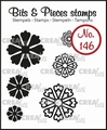 Crealies Clear Stamp Bits & Pieces nr. 146  CLBP146
