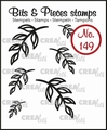 Crealies Clear Stamp Bits & Pieces nr. 149  CLBP149