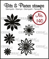 Crealies Clear Stamp Bits & Pieces nr. 140  CLBP140