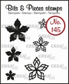 Crealies Clear Stamp Bits & Pieces nr. 145  CLBP145
