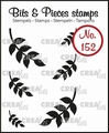 Crealies Clear Stamp Bits & Pieces nr. 152  CLBP152